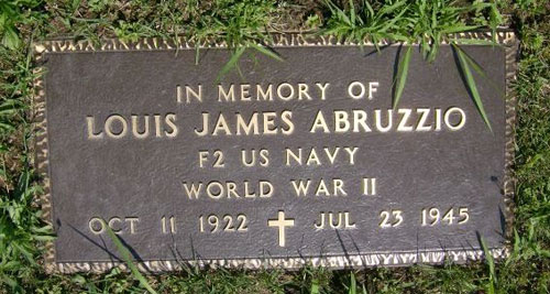 Louis James Abruzzio marker
