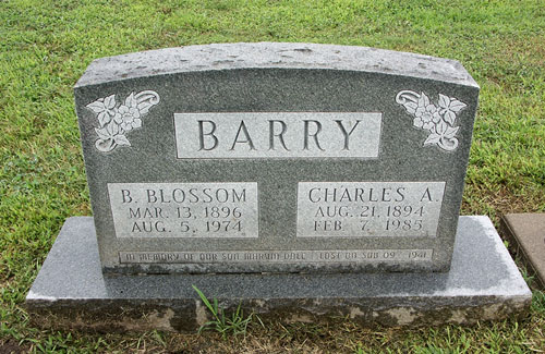 Marvin Dale Barry marker