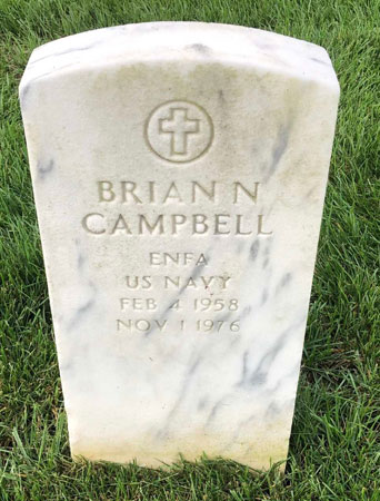 Brian Neal Campbell marker