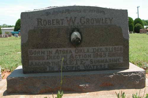 Robert William Crowley - Marker