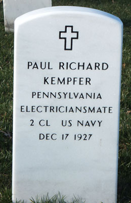 Paul Richard Kempfer marker
