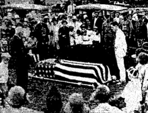 Frank Lester Mims funeral