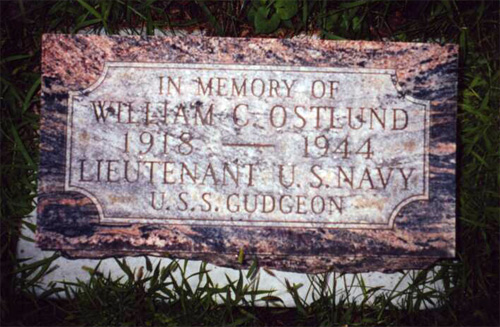 William Conrad Ostlund marker