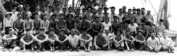 USS Barbel Crew at Majuro