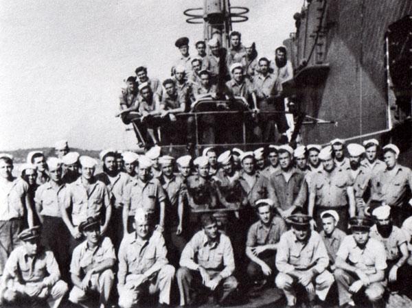 USS Bonefish Crew