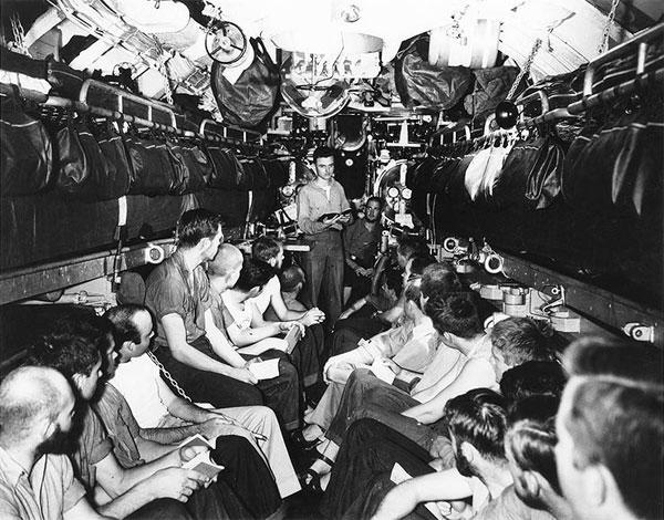 USS Bullhead Church Services