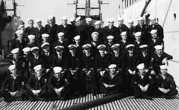 USS Pickerel Crew in 1937