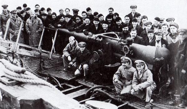 USS S-28 Crew - Dutch Harbor