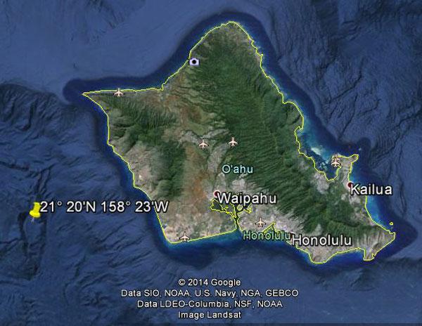 USS S-28 Location Google Earth