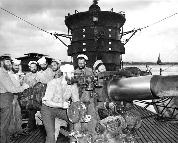 USS S-44 Gun Crew