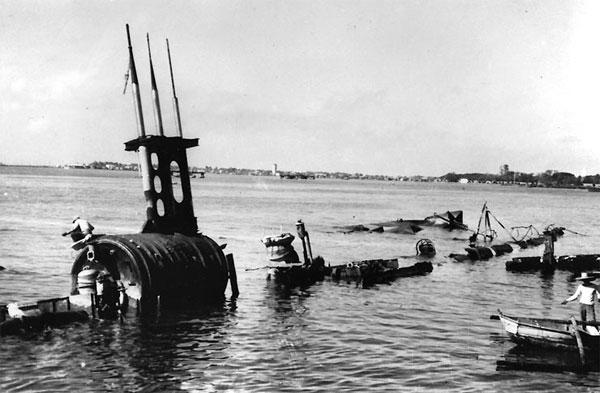 USS Sealion wreck