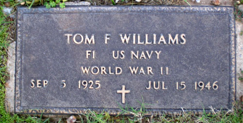 Tom Ford Williams marker