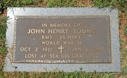 John Henry Young marker