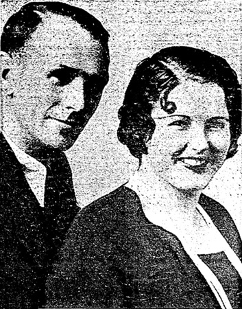 Earl Franklin Varner and wife